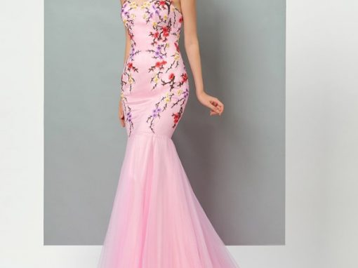 Ericdress Sweetheart Flower TrumpetMermaid Evening Gown